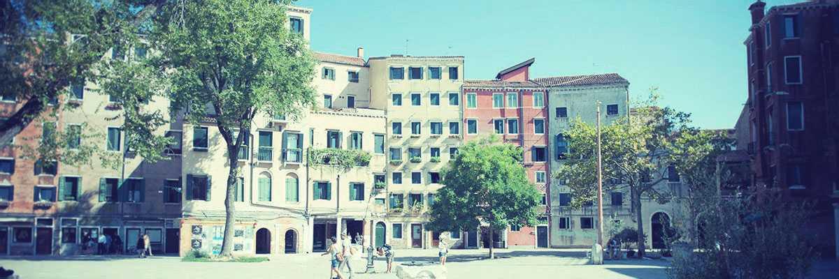 The Campo of the Ghetto Nuovo