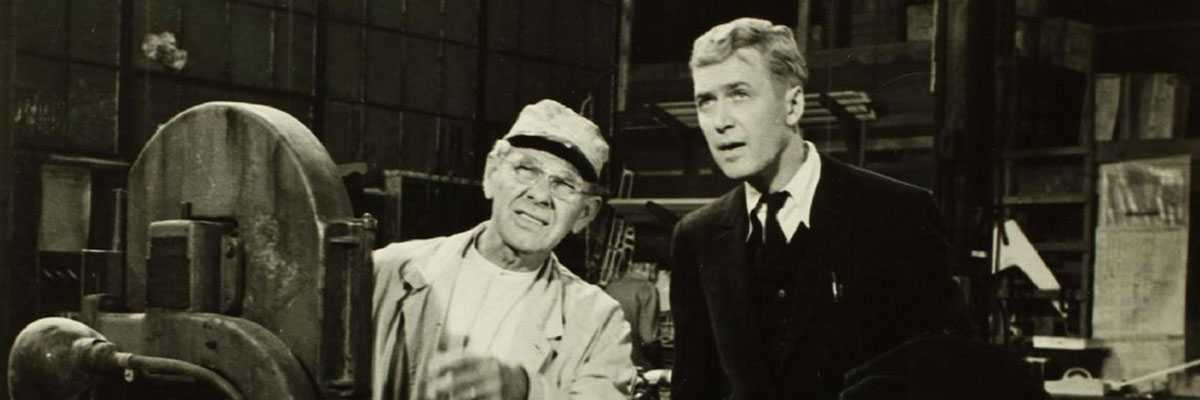"""The producer Leland Hayward with the actor Jimmy Sterar in the film """"The spirit of Saint Louis"""""""