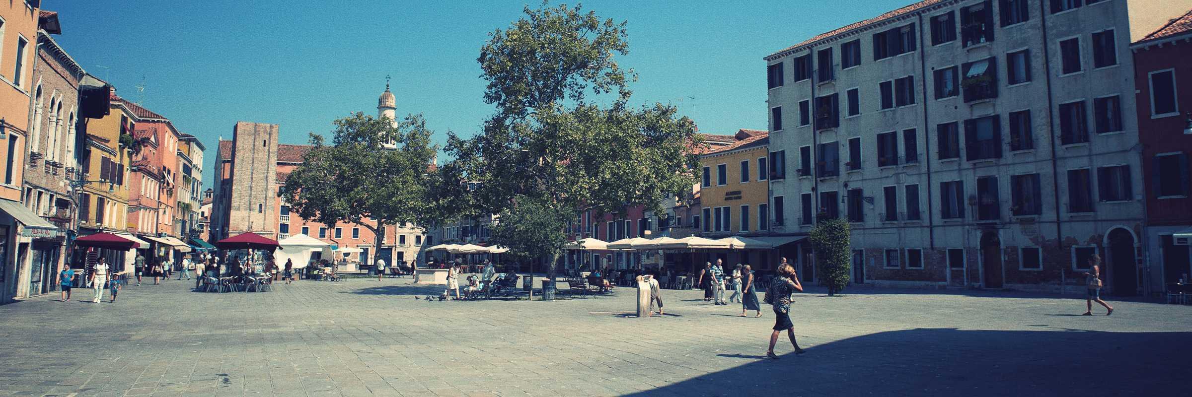 View on Santa Margherita fiel — (Venipedia/Bazzmann Archive)