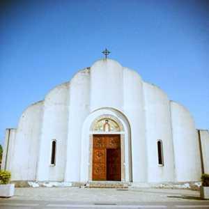 La chiesa dedicata a Cristo Re.