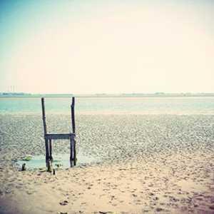 Visione poetica della spiaggia di Sant'Erasmo.